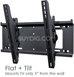Flat + Tilt Smart Mount for select Flat Panel TVs (Black) - OPEN BOX