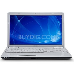 "Satellite 15.6"" L655D-S5112WH Notebook PC"