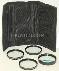 Digital Concepts 72mm 4-piece Close-up lens set - Zoom in on the Details!