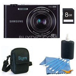 "MV900 Smart Touch Multi View 3.3"" LCD Black Digital Camera Kit"