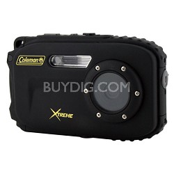 Xtreme C5WP 12MP 33ft. Waterproof Camera, Anti-Shake, Face Detection (Black)