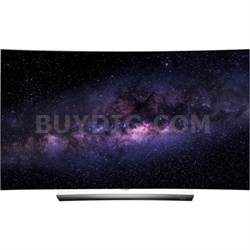 OLED65C6P 65-Inch C6 Series Curved 4K UHD OLED HDR 3D Smart TV with webOS 3.0