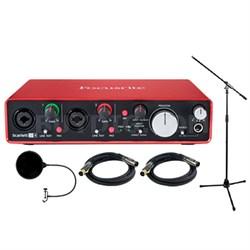 Scarlett 2i4 USB Audio Interface (2nd Gen) w/ Professional Tools