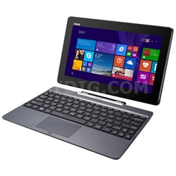 "T100TAM-C1-GM Transformer Book 10.1"" 64 GB Net-Tablet PC, Metallic Gray"