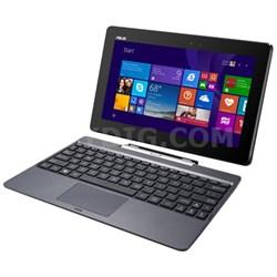 "T100TAM-C1-GM Transformer Book 10.1"" 64 GB Net-Tablet PC, Metallic Gray"