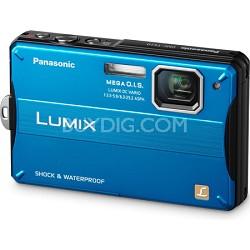 Lumix DMC-TS10A 14.1 MP Digital Camera (Blue)