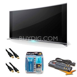 KDL-65S990A 65-Inch Bravia LCD HDTV Surge Protector Bundle