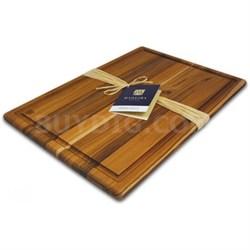 Provo Teak Edge-Grain Carving Board, Extra Large - 1023 - OPEN BOX