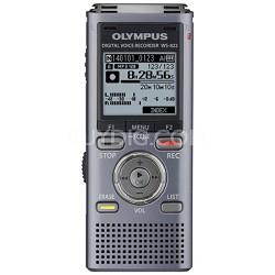 WS-822 Digital Voice Recorder, 4GB Gray