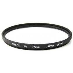 ZE-UV-77 77mm Camera Lens Sky and UV Protective Filters