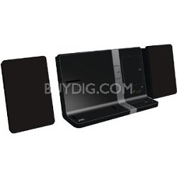 UXVJ3B  iPad/iPod/iPhone Mini System 30-Watt Dual Dock (Black) OPEN BOX
