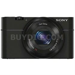 DSC-RX100 20.2 MP 3.6x zoom, Large Exmor lowlight CMOS Sensor - ***AS IS***