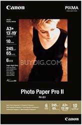 "Photo Paper Pro II 13"" X 19"" - 10 Sheets"