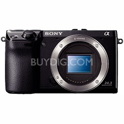 NEX7/B - NEX-7 24.3 MP Camera Body (Black) - OPEN BOX