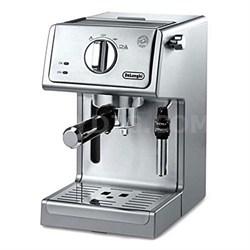 15 Bar Pump Driven Espresso/Adjustable Advance Cappuccino Machine - Steel