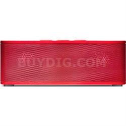 Superior Sound Soundbrick Bluetooth Red Stereo Speaker/Built-in Mic - OPEN BOX