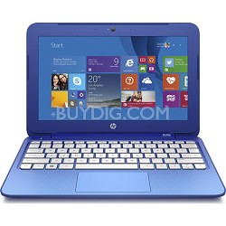Stream 11 Laptop with Free Office 365 Personal for One Year - Horizon Blue