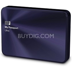 My Passport Ultra Metal Edition 2TB Blue Portable Hard Drive