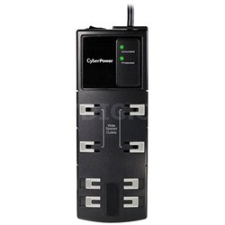8-Outlet Essential Surge Protector with 6' Cord - CSB806