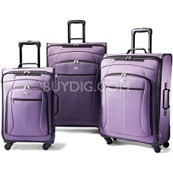 AT Pop 3 Piece Spinner Luggage Set (Purple)