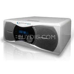 BLUET3W Powered Bluetooth Speakers White