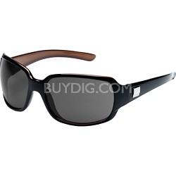 Cookie Sunglasses Black Backpaint Frame/Gray Polarized Lens