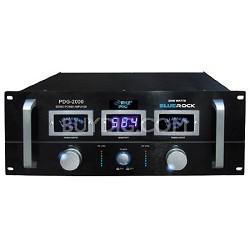 PDG2000 Blue Rock 2000 Watt Professional Stereo Power Amplifier