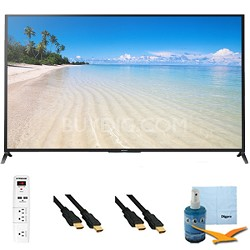 "70"" 1080p 120Hz 3D LED HDTV Motionflow XR 480 Wifi Plus HookUp Bundle KDL70W850B"