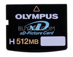 High-Speed H512MB xD Memory Card