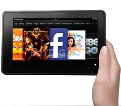 "Kindle Fire, 7"" LCD Display, Wi-Fi, 8GB"