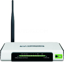 Nework Device TL-WR741ND 150Mbps 2.4GHz 802.11b/g/n Wireless Lite N Router