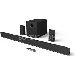 "54"" 5.1 Home Theater Sound Bar w/ Wireless Subwoofer and Speakers (Black)(S5451)"