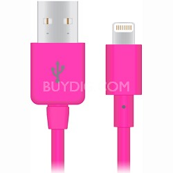 Apple Certified Lightning 8-Pin Charge and Sync Cable (Pink) - 12419