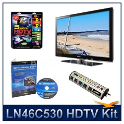 LN46C530 - HDTV + High-performance Hook-up Kit + Power Protection + Calibration
