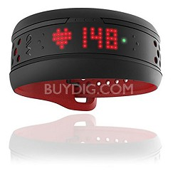 Fuse Heart Rate Training Band - Bluetooth Smart and ANT+ Crimson 59P-LRG