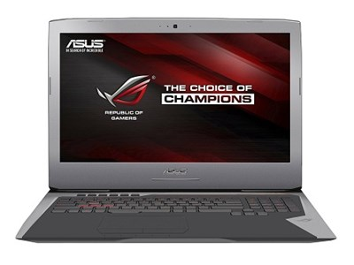 ROG G752VT-DH72 17-Inch Intel Core i7-6700HQ Gaming Laptop - OPEN BOX