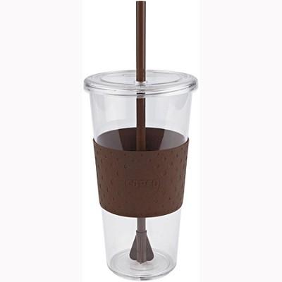 Eco First Tumbler 24 Ounce Togo Cup Mug - Brown (2510-9970)