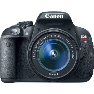 EOS Rebel T5i 18MP SLR Digital Camera + EF-S 18-55mm IS STM Lens - OPEN BOX
