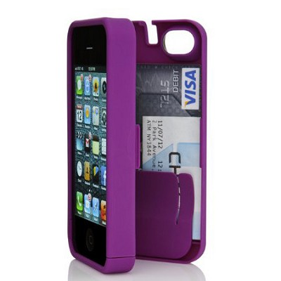 Case for iPhone 4/4S - Purple