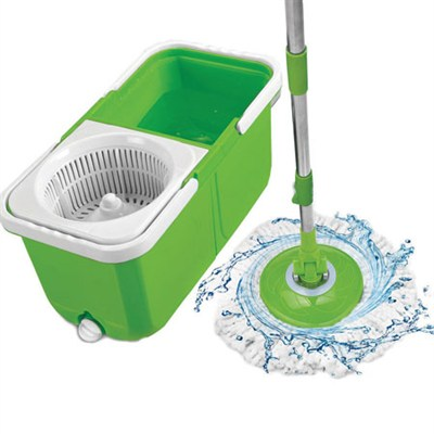 9557 InstaMop The Spinning Action Mop, Green