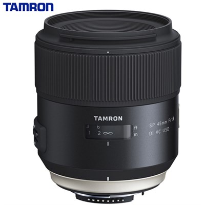 SP 45mm f/1.8 Di VC USD Lens for Nikon Mount AFF013N-700 (Certified Refurbished)