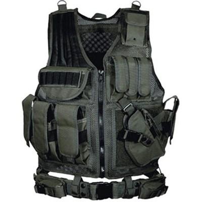 547 Law Enforcement Tactical Vest (Black)(PVCV547BT)