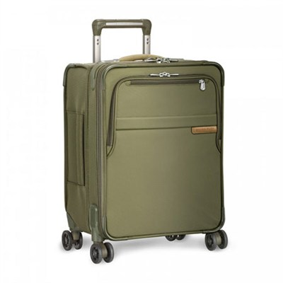 Baseline Collection 19` Commuter Expandable Luggage Spinner (Olive) - U119CXSP-7