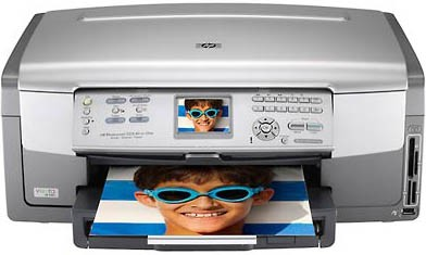 Photosmart 3210 All-in-One Photo Inkjet Printer - Copier - Scanner
