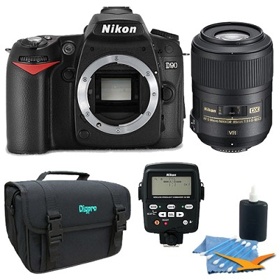 D90 Digital SLR Camera Professional Dental Kit