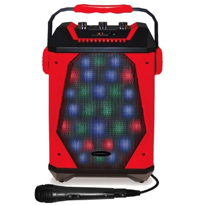 Rechargeable Bluetooth LED Panel Speaker with Wired Mic (WASP460)