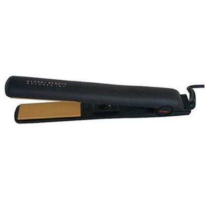 Ceramic Hairstyling Flat Iron, Matte Black, 7/8 Inch