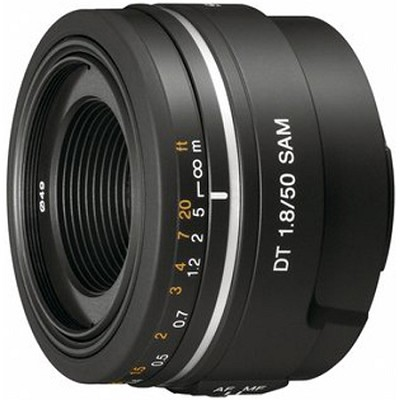 SAL50F18 - 50mm f/1.8 SAM DT A-Mount Lens for Sony Alpha DSLR's