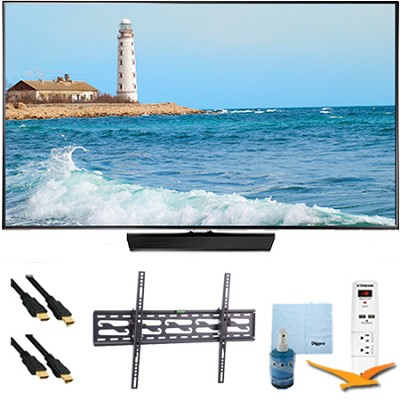 40` Full HD 1080p LED Smart TV 60Hz Plus Tilting Mount & Hook-Up Kit - UN40H5500