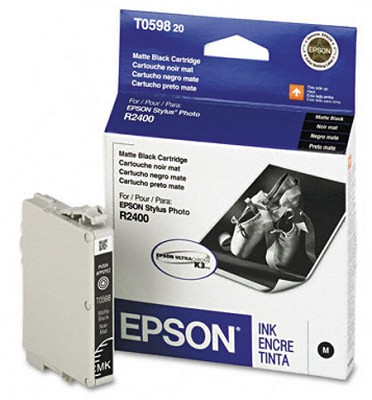 Matte Black Ink Cartridge for the R2400 Photo Printer